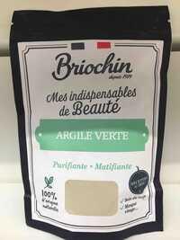 BRIOCHIN - Argile verte - Soin du corps, masque visage