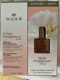 NUXE - Prodigieuse - Crème multi-correction et Huile florale
