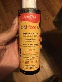 ACTIVILONG - Actiforce - Bain d'huiles
