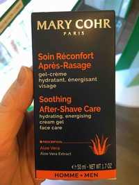 MARY COHR PARIS - Homme - Soin réconfort après-rasage