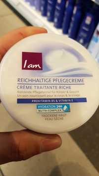 I am - Crème traitante riche
