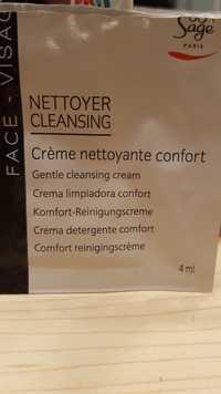 Peggy Sage - Nettoyer - Crème nettoyage confort