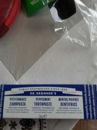 Dr. Bronner's - Dentifrice menthe poivrée