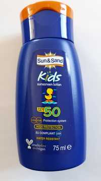 SUN & SAND - Kids - Sunscreen lotion SPF 50