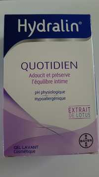 HYDRALIN - Quotidien - Gel lavant