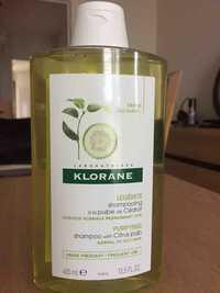 Klorane - Légèreté - Shampooing à la pulpe de cédrat