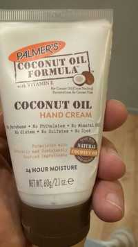 PALMER'S - Coconut oil formula - Natural hand cream
