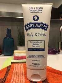 BABYDERME - Baby & Family - Gel lavant ultra-doux à la brassicamine bio