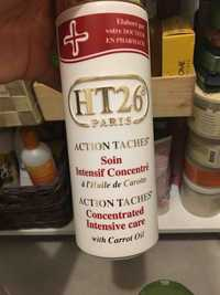 HT26 - Action taches - Soin intensif concentré