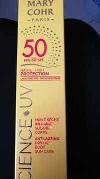 MARY COHR - Science UV - Huile sèche anti-âge SPF 50