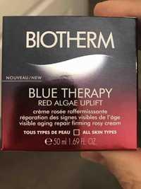 Biotherm - Blue Therapy - Crème rosée raffermissante