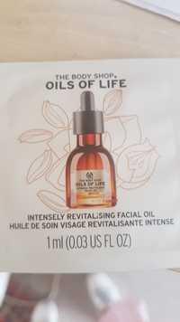 The Body Shop - Oil of life - Huile de soin visage revitalisante intense