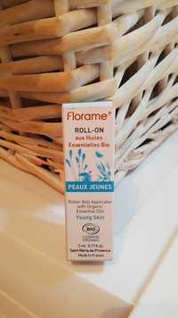 FLORAME - Peaux jeunes - Roll-on aux huiles essentiels bio