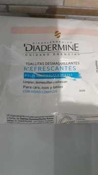 DIADERMINE - Refrescantes - Toallitas desmaquillantes