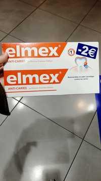 Elmex - Anti-caries - Dentifrice au fluorure d'amines olafluor