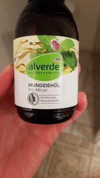 ALVERDE - Mundziehöl bio-minze