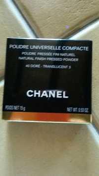 CHANEL - Poudre universelle compacte 40 doré translucent 3