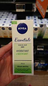 Nivea - Essentials - Soin de jour 24h hydratant + matifiant