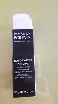Make up for ever - Rouge artist natural - rouge à lèvres