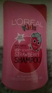 L'Oréal - Kids Extra gentle 2-in-1 - Very berry stramberry shampoo