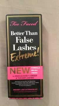 TOO FACED - Better than false lashes Extreme! - Instant lash extension kit