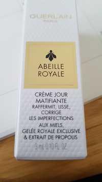 Guerlain - Abeille royale - Crème jour matifiante