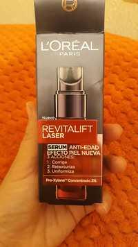 L'Oréal Paris - Revitalift laser - Serum anti-edad efecto piel nueva