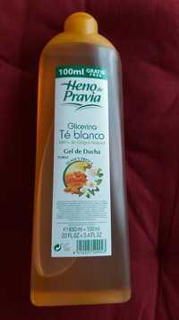 HENO DE PRAVIA - Glicerina & té blanco - Gel de ducha