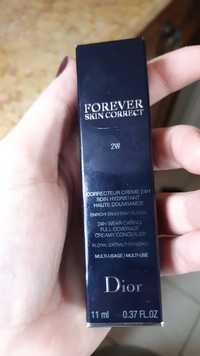 DIOR - Forever skin correct - Correcteur crème 24h