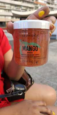 SEPHORA - Mango - Exfoliating body granita
