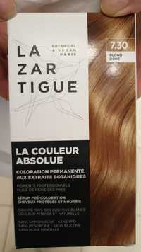 LAZARTIGUE - La couleur absolue - Coloration permanente 7.30 blond doré