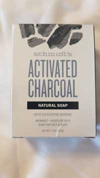 Schmidt's - Activated charcoal - Natural soap with exfoliating bamboo