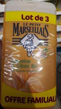 Le petit marseillais - Verveine & citron bio - Gel douche