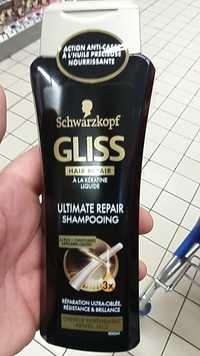 SCHWARZKOPF - Gliss hair repair à la kératine liquide