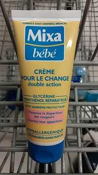 Mixa - Bébé - Crème pour le change double action