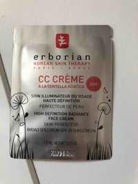 ERBORIAN - CC crème à la centella asiatica doré