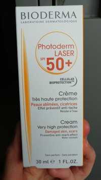 Bioderma - Photoderm laser SPF 50+ - Crème très haute protection