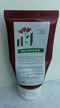 KLORANE - Fortifiant & stimulant - Baume après-shampooing