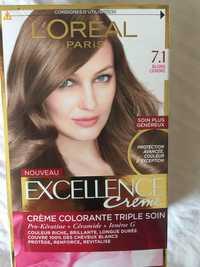 Composition Loréal Excellence Crème Crème Colorante Triple Soin