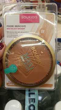 Bourjois - Maxi delight bronze - Poudre bronzante