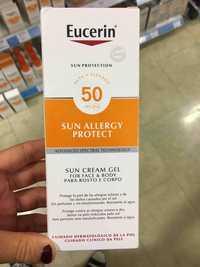 Eucerin - Sun cream gel for face & body FPS 50