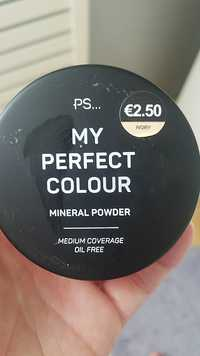 Primark - Ps... my perfect colour - Mineral powder medium covrage