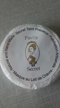 Pin Up Secret - Secret teint précieux - Masque au lait de chèvre