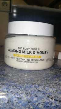 THE BODY SHOP - Almond Milk & Honey - Gommage crème douceur