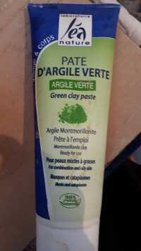 Léa Nature - Pâte d'argile verte
