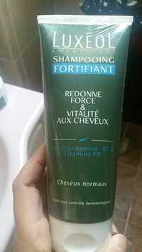 LUXÉOL - Shampooing fortifiant - Redonne force & vitalité aux cheveux