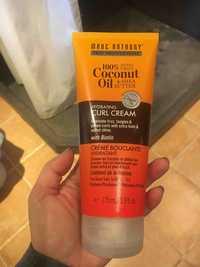MARC ANTHONY - Crème bouclante hydratant