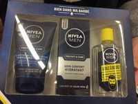 NIVEA - Men - Gel nettoyant, soin confort hydratant, huile à barbe