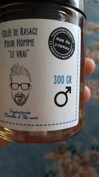 """MAS DU ROSEAU - Gelée de rasage pour homme """"le vrai"""""""