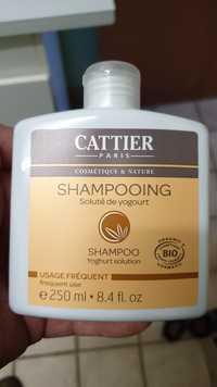 Cattier - Soluté de yogourt - Shampooing